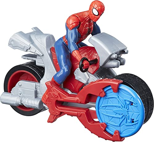Marvel Spider-Man Blast N Go Racer Spider-Man with Cycle, Ages 3 and Up