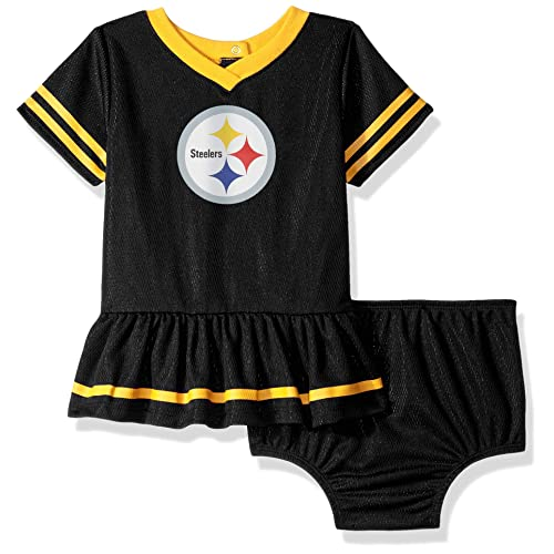 NFL Pittsburgh Steelers Baby-Girls 2-Piece Football Dress Set fbc3ccb0e