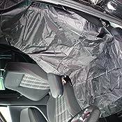 F Anlos Wasserdichte Bezüge Für Universelle Autositze 2er Pack 132 X 54cm Schwarz Auto