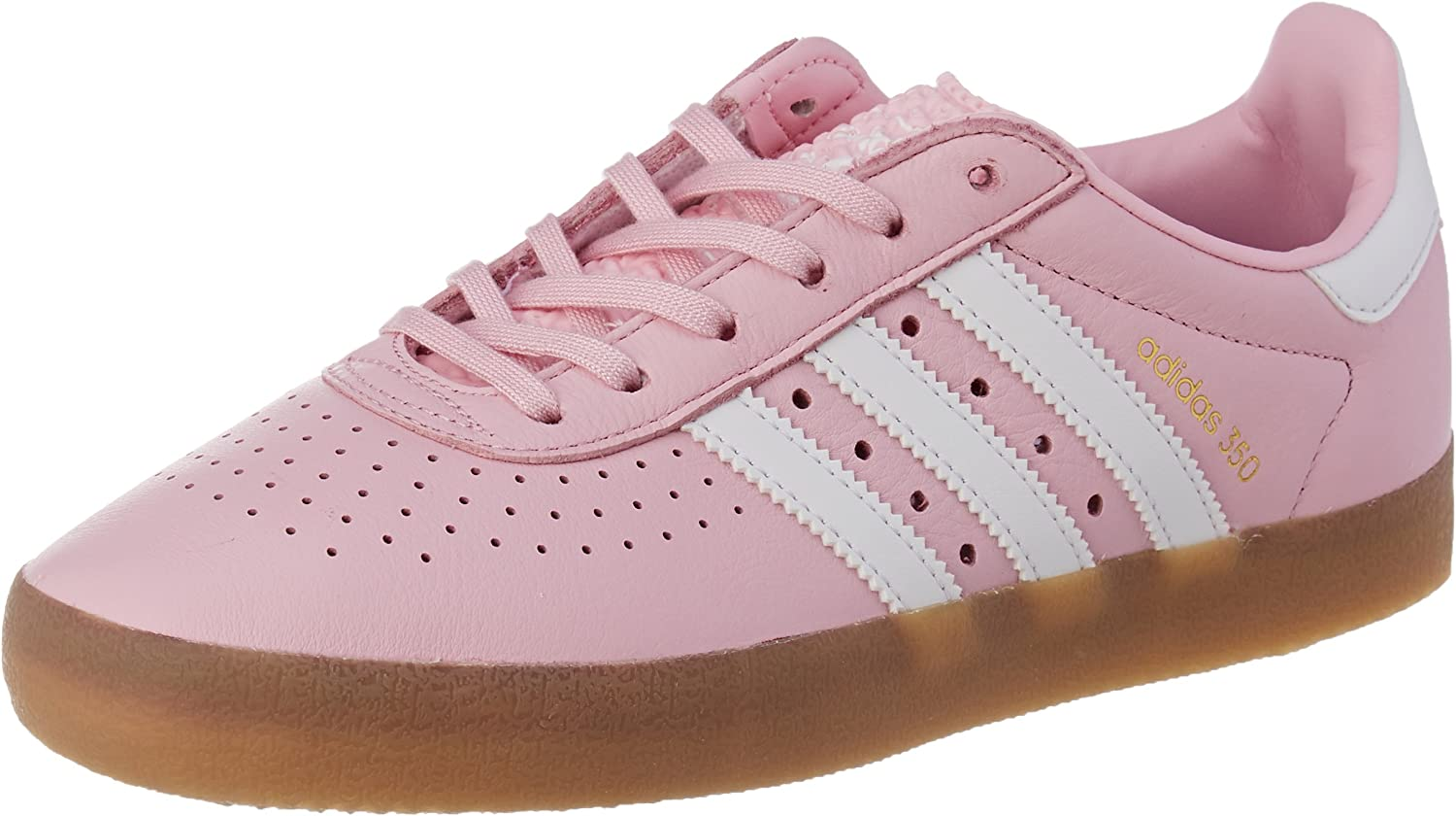 Adidas Originals Womens 350 Lace Up Trainers shoes - Pink