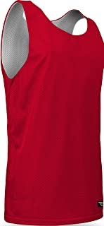 Game Gear Reversible Mesh Jersey, Basketball/Gym/Soccer Tank Top for Youth (13 Colors) AP993Y