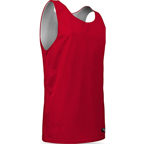 564a4b5706b AP993Y Youth Boys and Girls Tank Top Jersey-Uniform is Reversible to White