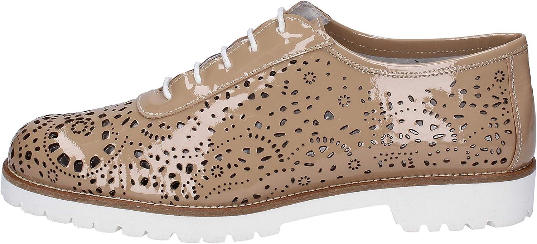 LA REGINA Oxfords-shoes Womens Beige