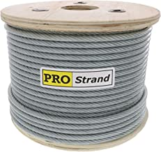 Grade 304 Stainless Steel Cable Reel Pro Strand 1//8 X 500 7x19