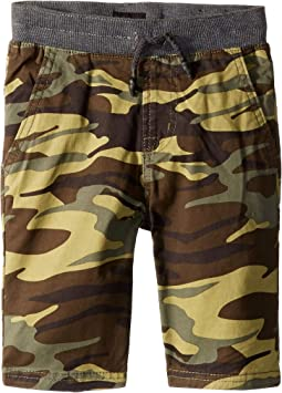Campbell Shorts in Olive Camo (Toddler/Little Kids/Big Kids)