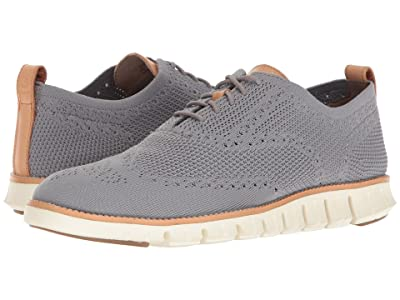 Cole Haan Zerogrand Stitchlite Oxford (Ironstone/Ivory) Men