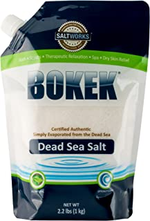 Bokek Dead Sea Salt, Fine - 2.2 lb Bag