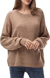Women's Loose Sweaters Pullover Oversized Lightweight Sweater for Women Long Sleeve Soft Slouchy Tops Fall