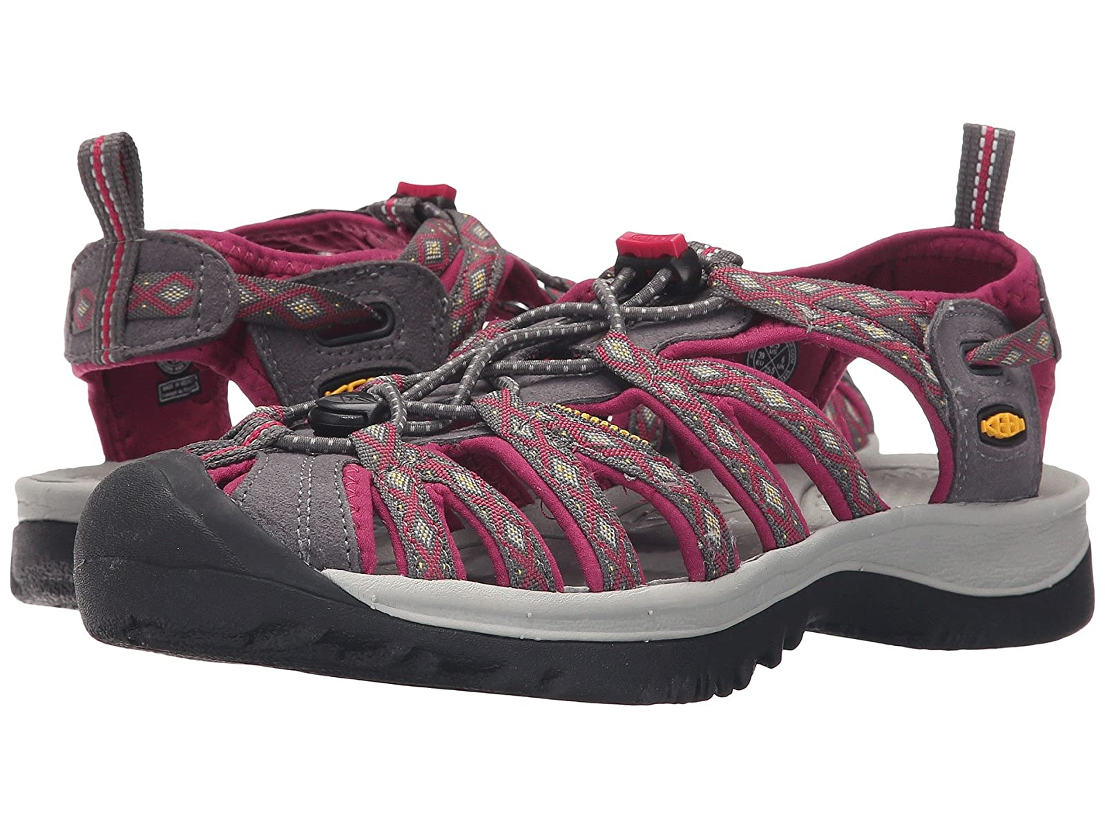 Keen WhisperAtmospheric grades have affordable shoes