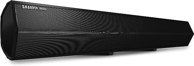 Sharper Image SBT2010BK37 Andromeda 37-Inch Wireless Bluetooth Sound Bar 2.0 for TV or Bluetooth Smartphones/Tablets
