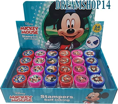 Disney Mickey Mouse 24 Stampers Party Favors (IN BOX) by Disney