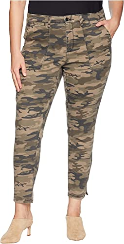 Plus Size Fast Track Zip Chino Pants