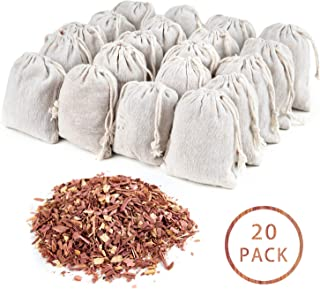 GOGOUP Cedar Sachets Bags, Cedar Chips Bag for Clothes Storage with Light Cedar Fragrance Odor Protection for wardrobes Closets and Drawers Freshener Clothes 20-Pack