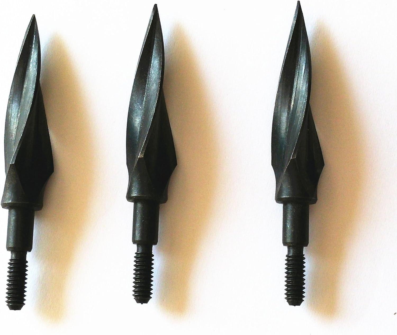 Hunting Broadheads 4pc Archery Broadheads 110 Grain Steel Arrow Heads Arrow Tips