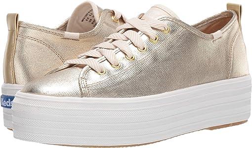 Gold Metallic Twill
