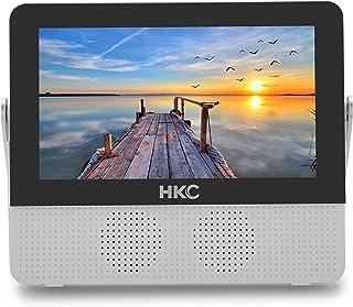 HKC P7H6 Mini TV Portable (TV HD 7 Pouces) HDMI + USB, 60Hz, Lecteur multimédia,..