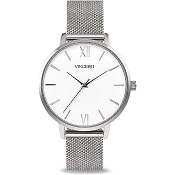 Vincero Luxury Women's Eros Wrist Watch with a Leather Watch Band — 38mm Analog Watch — Japanese Quartz Movement…