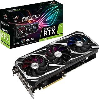 ASUS Placa gráfica para jogos ROG Strix NVIDIA GeForce RTX 3060 OC Edition (PCIe 4.0, 12GB GDDR6, HDMI 2.1, DisplayPort 1....