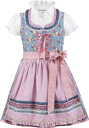 Kleid f/ür besondere Anl/ässe Stockerpoint M/ädchen Kinderdirndl Natalja Jr