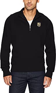 OTS NHL Men's Fleece 1/4-Zip Pullover