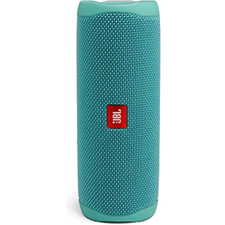JBL Flip 5 by Harman Bluetooth Speaker with Upto 12 Hours Playtime, IPX7 Waterproof & PartyBoost (Without Mic, Teal)