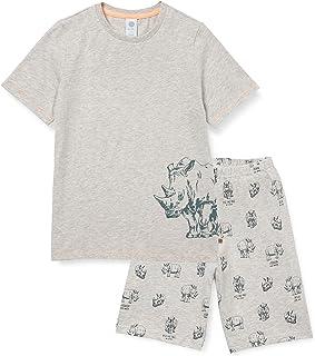 motivo: dinosauro escavatore estivo aereo per bambini 92 98 104 110 116 122 9-2# Green Dino 104 cm pigiama in due pezzi trattore EULLA Pigiama a maniche corte per bambini aereo