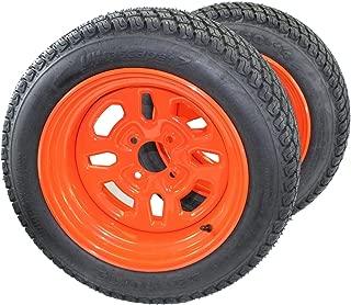 Antego Tire & Wheel (Set of 2) 22x10.00-14 Kubota Assemblies K3011-17200
