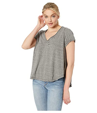 Free People All You Need Tee (Moss) Women