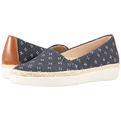 Trotters Accent (Navy/White Printed Textile) Women