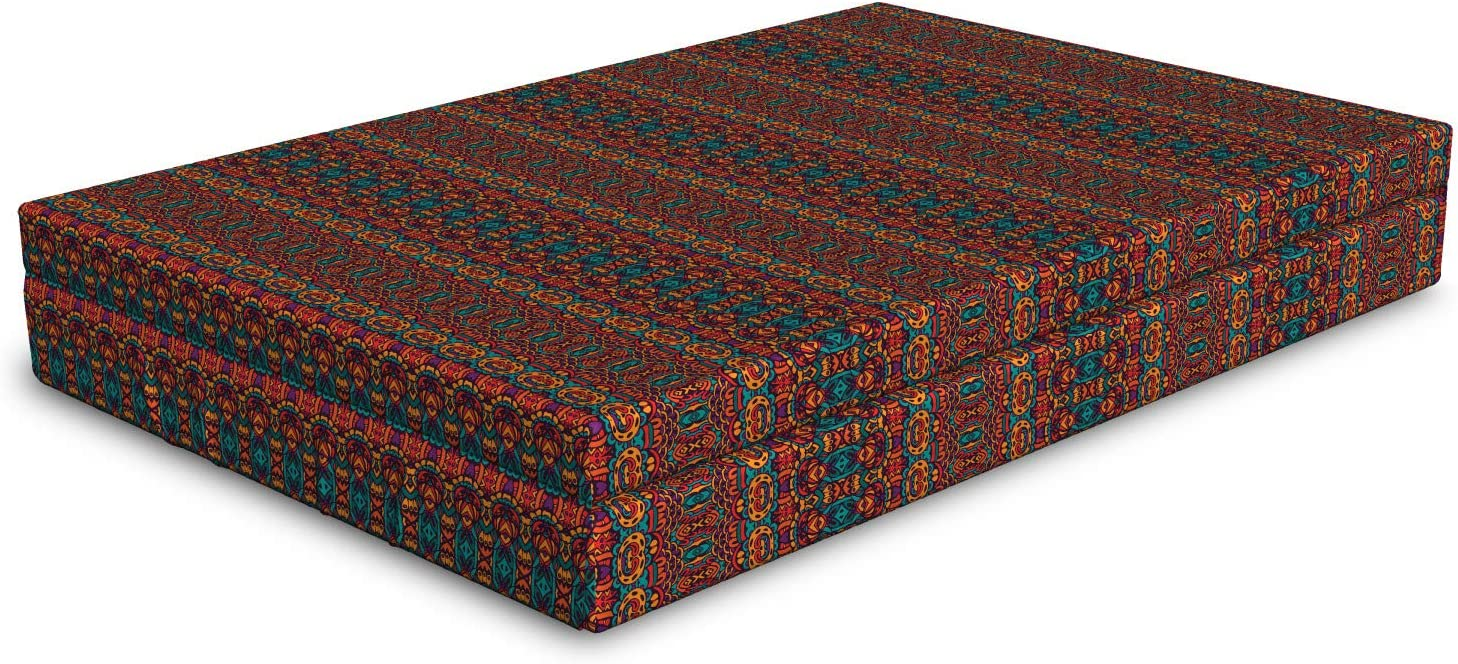 Ambesonne African Dog Bed Folkloric Super beauty product restock quality top Ornament Pa and Weekly update Psychedelic