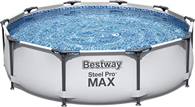Bestway Steel Pro Frame Swimming Pool with Pump - 10 feet x 30 inch