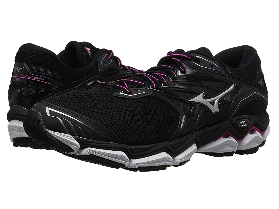 Mizuno Wave Horizon 2 (Black/Athena) Girls Shoes