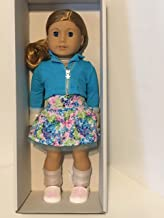 American Girl - 2017 Truly Me Doll: Light Skin, Curly Red Hair, Blue Eyes DN33