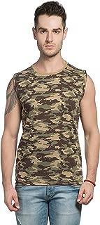Alan Jones Men's Camouflage Cotton Vest