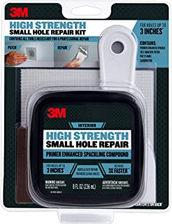 3M SHR High Strength Small Hole Repair Kit with 8 fl. oz Plus Primer, Self-Adhesive..