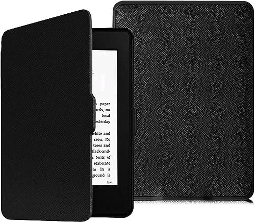 Fintie Étui pour Kindle Paperwhite - étui Flip Super Fin et léger, Fermeture magnétique avec Mise en Veille automatiq...