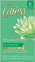 Caress Beauty Bar, Emerald Rush 4 oz, 6 Bar
