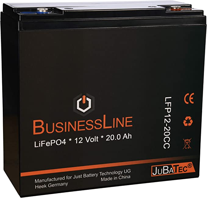 Lifepo4 Akku 12v 20ah Mit Bms Ohne Bluetooth Elektronik