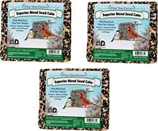 Pine Tree Farms Superior Blend Seed Cake, 2 Pounds (Pack of 3)