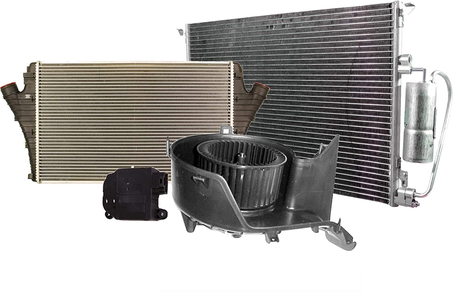 HVAC Blower Motor with Max outlet 84% OFF Actuator Intercooler Ki Condenser C and A