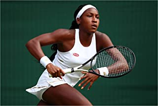 Fullfillment Posters Coco Gauff Poster Glossy Print Photo Wall Art Limited Sexy Celebrity USA Olympic World Cup Women's Tennis Sports Athlete Sizes 8x10 11x17 16x20 22x28 24x36 27x40#2 (16x20 inches)
