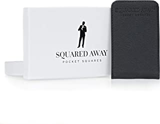 Squared Away: Men's Pocket Square & Pocket Square Holder- Innovative Sleeve Design