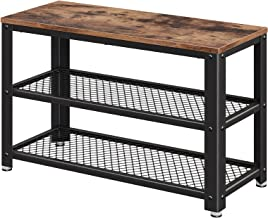Best wood and metal storage bench Reviews