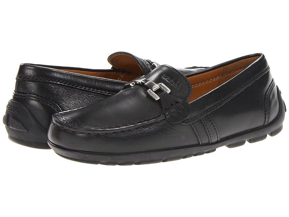 Geox Kids Jr Fast 8 (Little Kid) (Black) Boys Shoes
