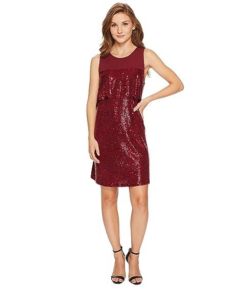 Kensie Sequin Jersey Dress Ksnk9882 At 6pm