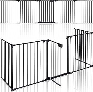 KIDUKU® Barrera de Seguridad 305 cm para Niños y Mascotas