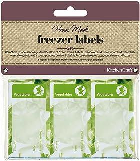 Kitchen Craft - Etiquetas para congelados Surtidas (60