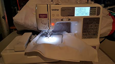 Brother SE400 Computerized Sewing and Embroidery Machine