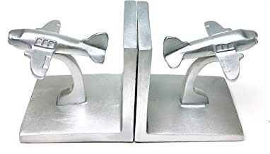 Best silver airplane bookends Reviews
