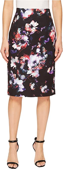 Ellen Tracy - High Waist Pencil Skirt